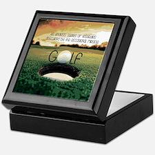 The Miracle of Golf Keepsake Box