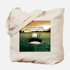 The Miracle of Golf Tote Bag