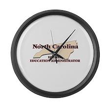 North Carolina Higher Education A Large Wall Clock