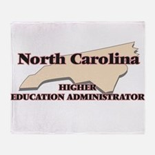 North Carolina Higher Education Admi Throw Blanket