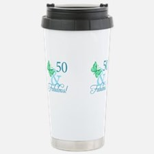 Unique Over 50 and fabulous Travel Mug
