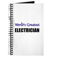 Worlds Greatest ELECTRICIAN Journal