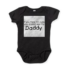Cute Baby shower thank you Baby Bodysuit