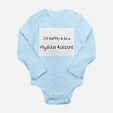 Cute Physician Long Sleeve Infant Bodysuit