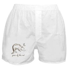 Vintage Year Of The Rat Boxer Shorts