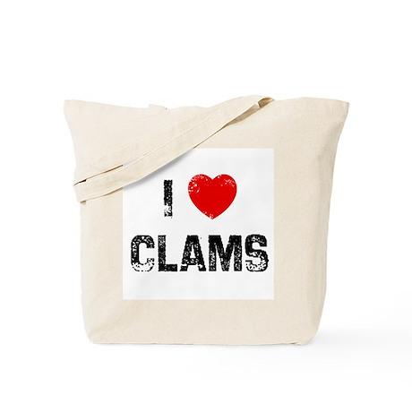 I * Clams Tote Bag