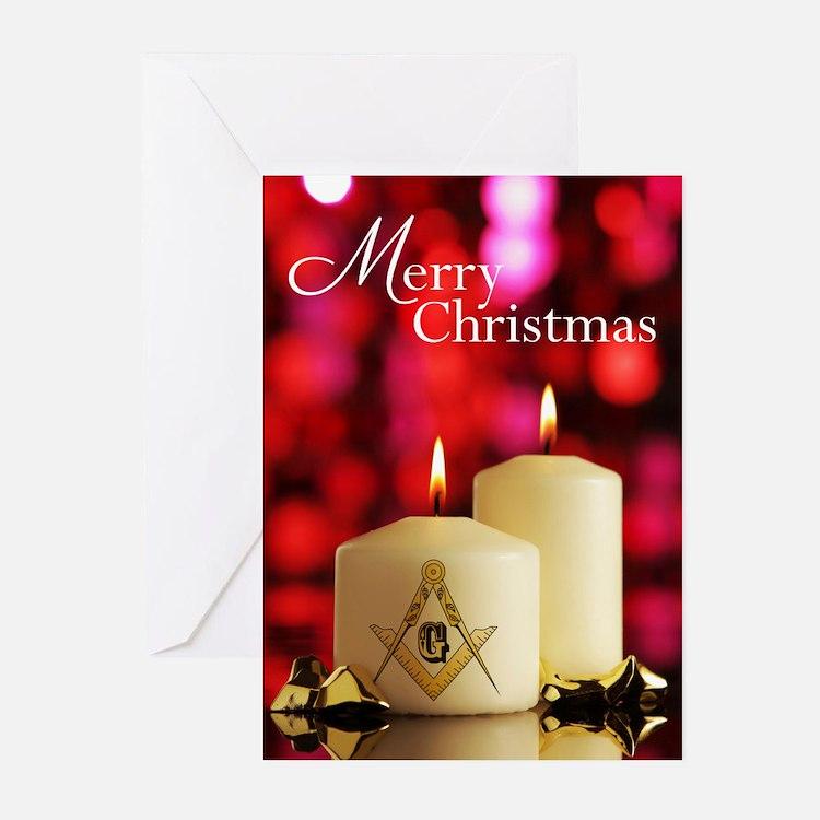 Cute Masonic christmas Greeting Cards (Pk of 20)