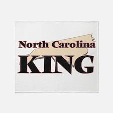 North Carolina King Throw Blanket