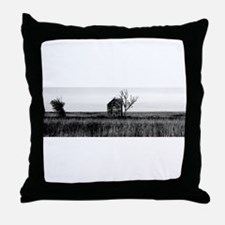 Abandoned Ghost House in Kansas. Throw Pillow