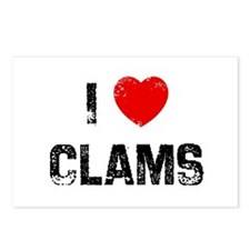 I * Clams Postcards (Package of 8)