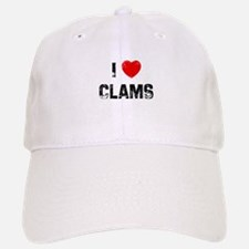 I * Clams Baseball Baseball Cap