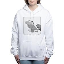 Cute Manatees Women's Hooded Sweatshirt