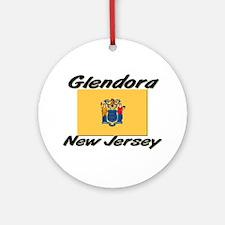 Glendora New Jersey Ornament (Round)