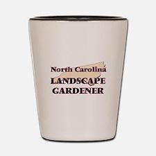 North Carolina Landscape Gardener Shot Glass
