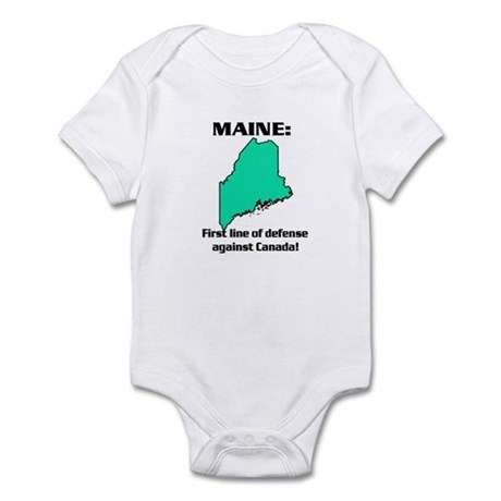 MAINE first line of defense against Canada Infant