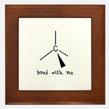 Bond with Me Framed Tile