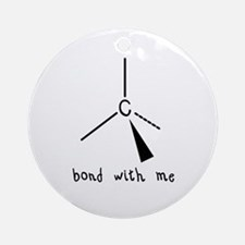 Bond with Me Ornament (Round)
