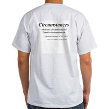 (Napoleon Bonaparte - A) Ash Grey T-Shirt