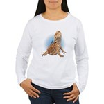 Bearded Dragon Women's Long Sleeve T-Shirt