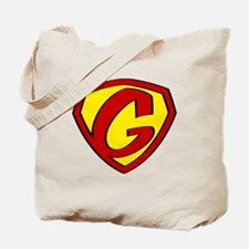 Super G Logo Costume 05 Tote Bag