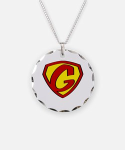 Super G Logo Costume 05 Necklace