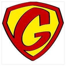 Super G Logo Costume 05 Poster