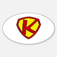 Super K Logo Costume 05 Decal