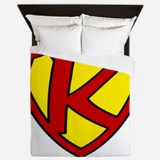 Super K Logo Costume 05 Queen Duvet