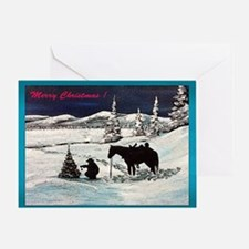 Card - A Cowboy Christmas! Greeting Cards
