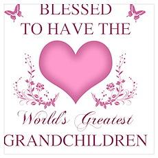 World's Greatest Grandchildren Poster