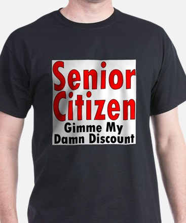 Cute Senior citizen T-Shirt