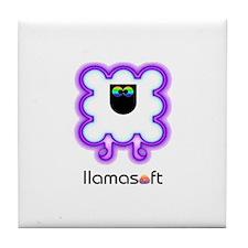 Llamasoft Tile Coaster