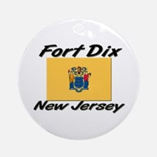 Fort Dix New Jersey Ornament (Round)