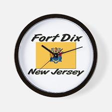 Fort Dix New Jersey Wall Clock