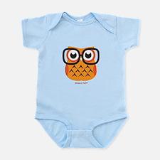 Little Nerdy Owl Body Suit