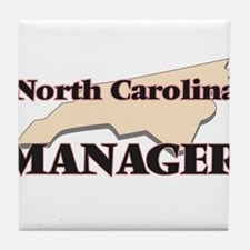 North Carolina Manager Tile Coaster