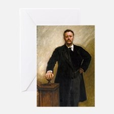 Theodore Roosevelt by Sargent Greeting Card