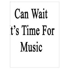 Social Media Can Wait It's Time For Music  Poster