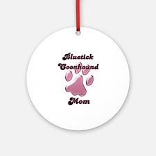 Bluetick Mom3 Ornament (Round)