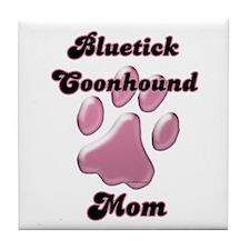 Bluetick Mom3 Tile Coaster