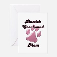 Bluetick Mom3 Greeting Card