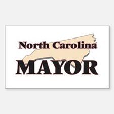 North Carolina Mayor Decal