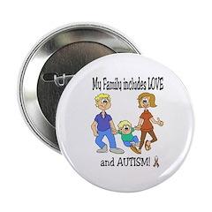 AUTISM Family Button