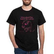 Im A Pig T-Shirt