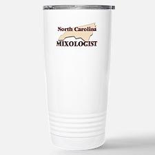 North Carolina Mixologi Stainless Steel Travel Mug