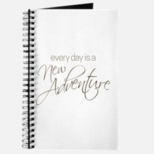 Every Day is a New Adventure Journal