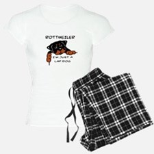 DOGS - ROTTWEILER - LAP DOG Pajamas