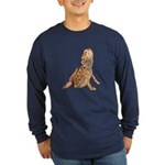 Bearded Dragon Long Sleeve Dark T-Shirt