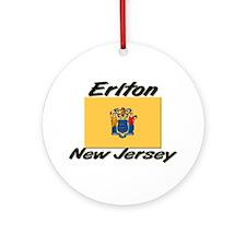 Erlton New Jersey Ornament (Round)