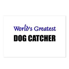 Worlds Greatest DOG CATCHER Postcards (Package of